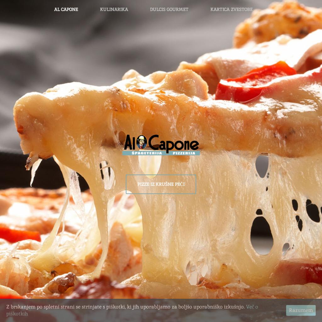 Špageterija in pizzerija Al Capone