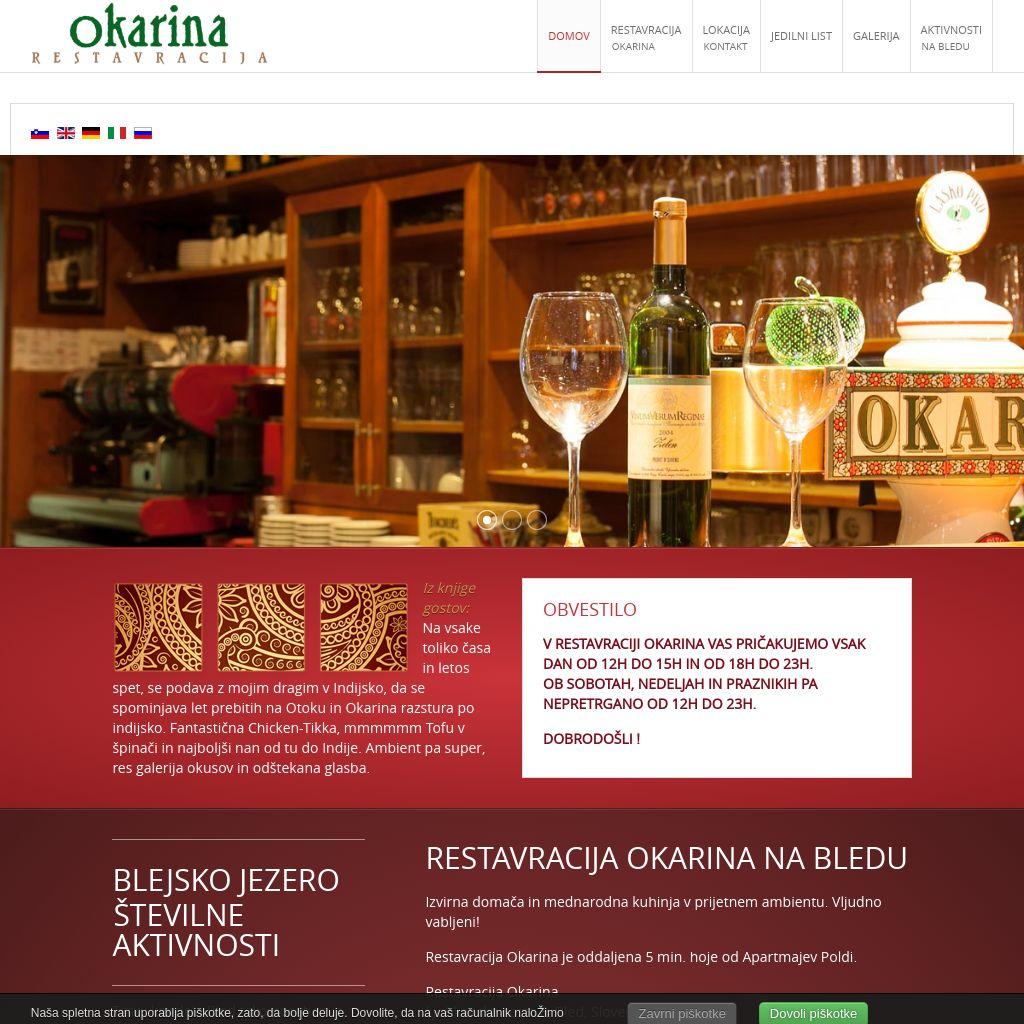 Restavracija Okarina