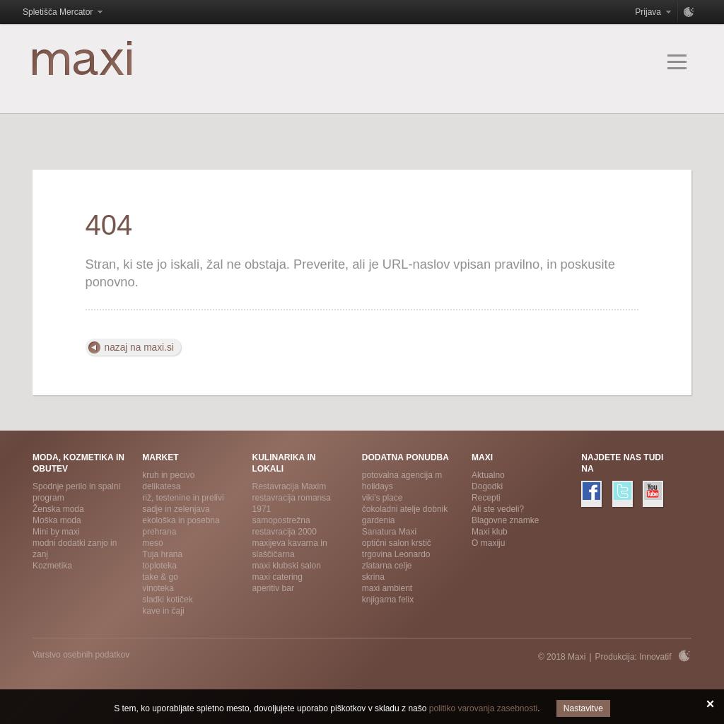 Restavracija MAXI 2000